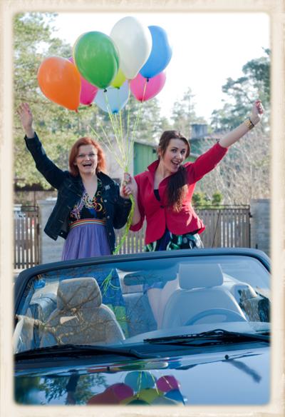 Luftballons zur gleichgeschlechtlichen Hochzeit